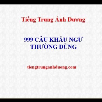 999-cau-khau-ngu-tieng-trung